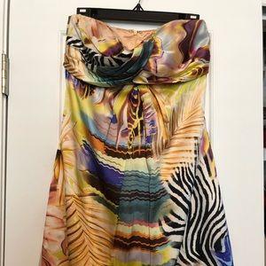 Cache Multiple color bubble dress